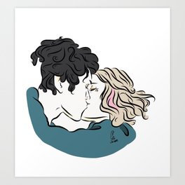 Reunion Art Print