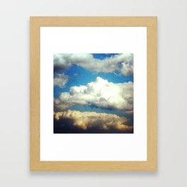 Beauteous May Sky Framed Art Print