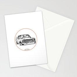 Crazy Car Art 0011 Stationery Cards
