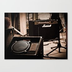 Indie Rock Show Canvas Print