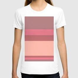 Color Stripes - Earthy Purples T-shirt