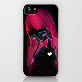 Girl Inverted iPhone Case