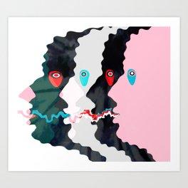 I II III Art Print