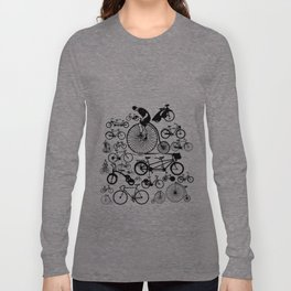 Bicycles Long Sleeve T-shirt