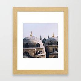 Memories of Istanbul Framed Art Print