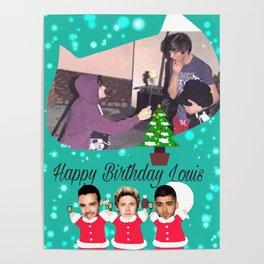 Happy Bithday Louis Poster