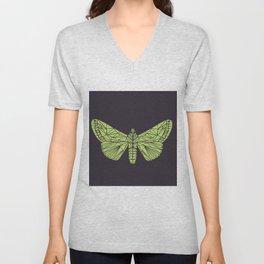 The envy of the moth - Geometric design Unisex V-Neck