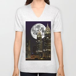 Bad Moon Rising Unisex V-Neck