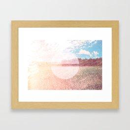 I don't love you... Framed Art Print