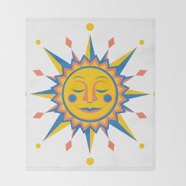 Summer's Joy Throw Blanket