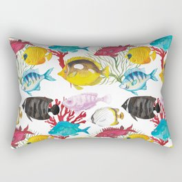 Coral Reef #1 Rectangular Pillow