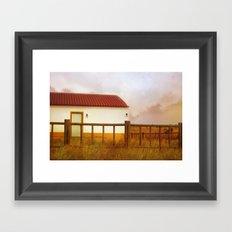 Land of soul Framed Art Print