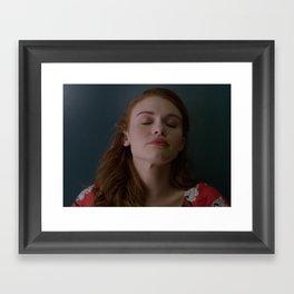 Lydia's rug Framed Art Print