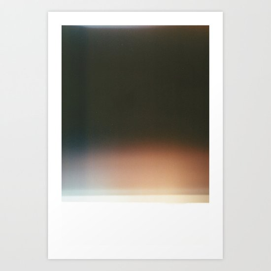 Film Burn III Art Print