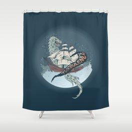 Turbulence Shower Curtain