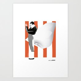 Bullfighting series: Estatuario Art Print