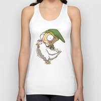 invader zim Tank Tops featuring Invader Link by Legendary Phoenix
