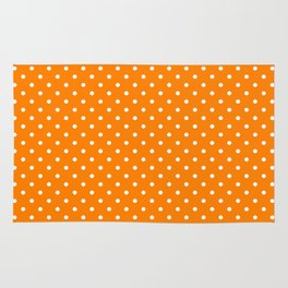 Dots (White/Orange) Rug