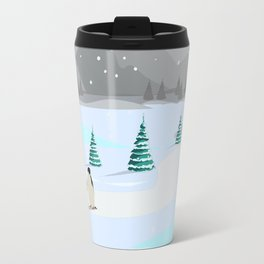 Christmas #Winter Travel Mug