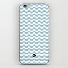 U12: postal blue iPhone & iPod Skin