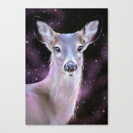 COSMIC DEER Canvas Print