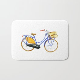 Dutch bike Bath Mat