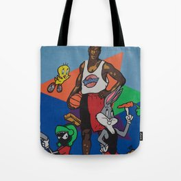 Space Jam Shoes Tote Bag