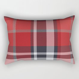 Colors Of Christmas (Plaid 4) Rectangular Pillow