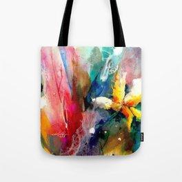 Yellow Flower by Kathy Morton Stanion Tote Bag