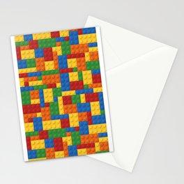 Lego bricks Stationery Cards