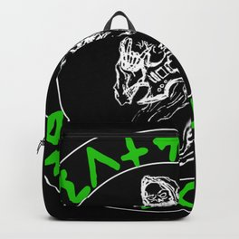 Green DCP Logo Backpack
