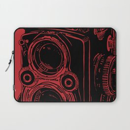 Vintage Rolleiflex (Red/ Black) Laptop Sleeve