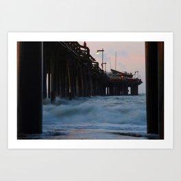 Under the Wharf Art Print