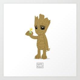 We are Groot. Art Print