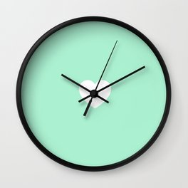 Lovely Mint Wall Clock