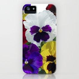 Pansies! iPhone Case