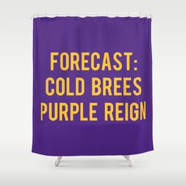Minnesota Fans Shower Curtain