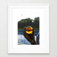 dragon ball Framed Art Prints featuring TENNIS(DRGN)BALL. by FREE$MONEY