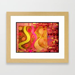 Tuning In On You Framed Art Print