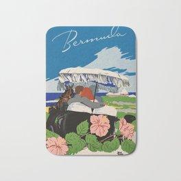 Romantic Bermuda travel Bath Mat