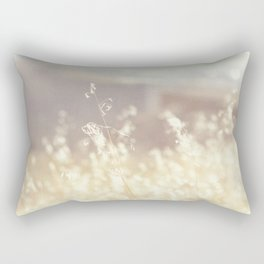 Vintage Wildflowers Rectangular Pillow