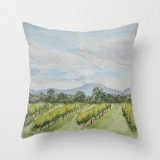 Pennsylvania Orchard Throw Pillow