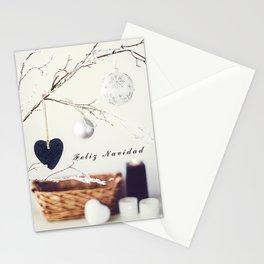 Feliz Navidad. Christmas Card Stationery Cards