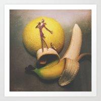 Jack Bananaton Art Print