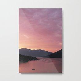 Bay of Kotor View - JUSTART (c) Metal Print