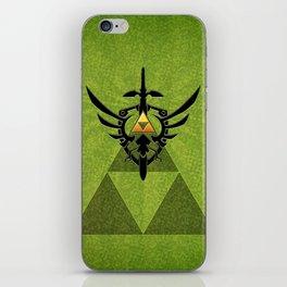 Zelda Link Triforce iPhone Skin