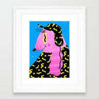 camouflage Framed Art Prints featuring Camouflage by Madelen Foss