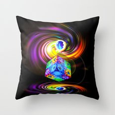 Dice  Game 3 Throw Pillow
