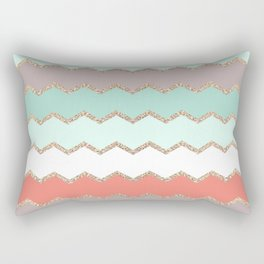 AVALON CORAL MINT Rectangular Pillow