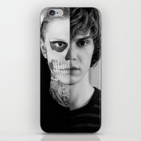 kris tate iPhone & iPod Skins featuring Tate Langdon  by Amélie Store